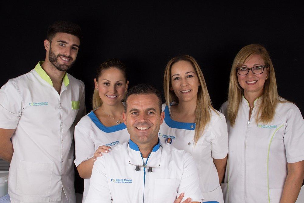 Equipo Clínica Dental Manuel Rodríguez Pérez